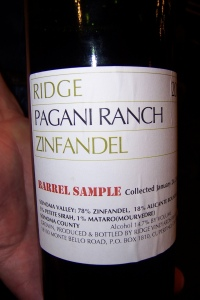 Ridge, Pagani Ranch